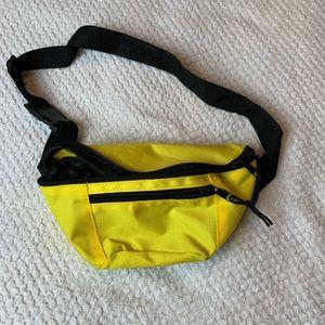 Yellow Fanny Packs